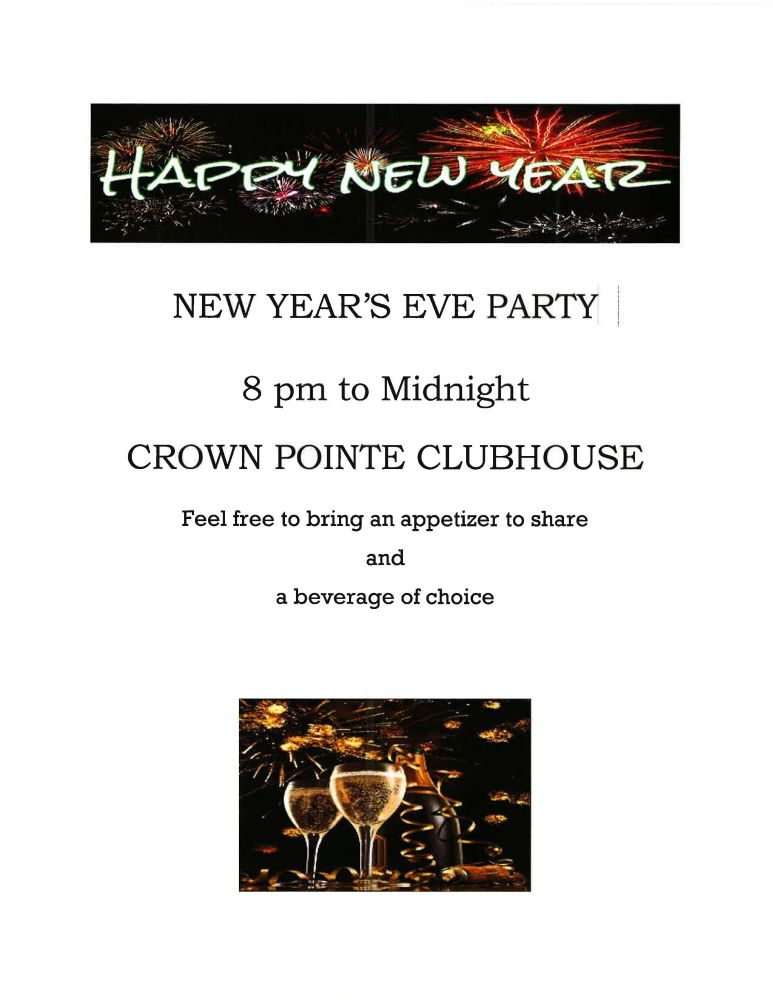 NYE Party Flyer