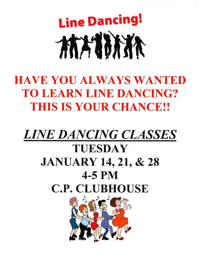 Line Dancing Classes